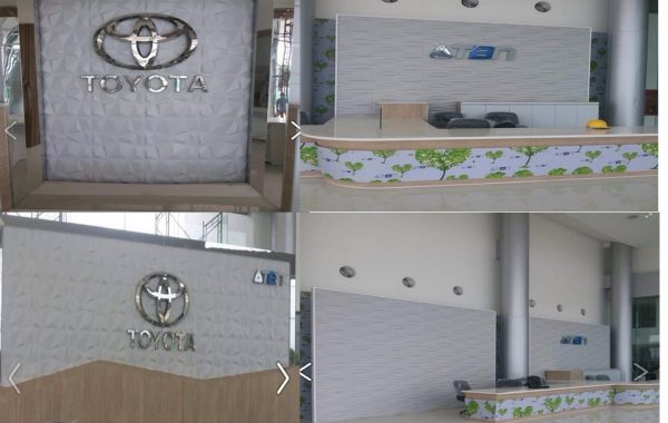 Project Showroom Toyota TBN
